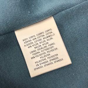 Anthropologie Dresses - Anthro l Deletta Retro Peek-a-Boo Blue Lace Dress